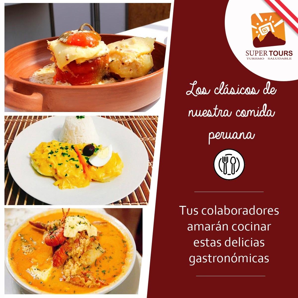 Los clásicos de nuestra comida peruana