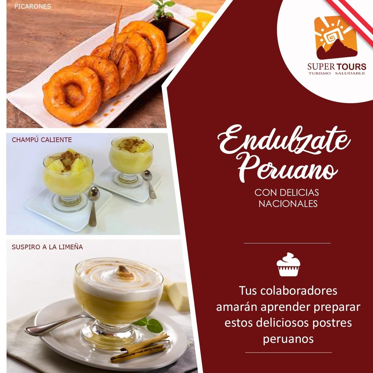 Endúlzate peruano